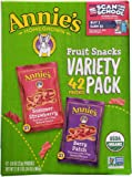 Annie's Homegrown Homegrown Fruit Snacks Variety Pack Net Wt (42 Pack 0.8 Oz Net Wt 34 Oz )