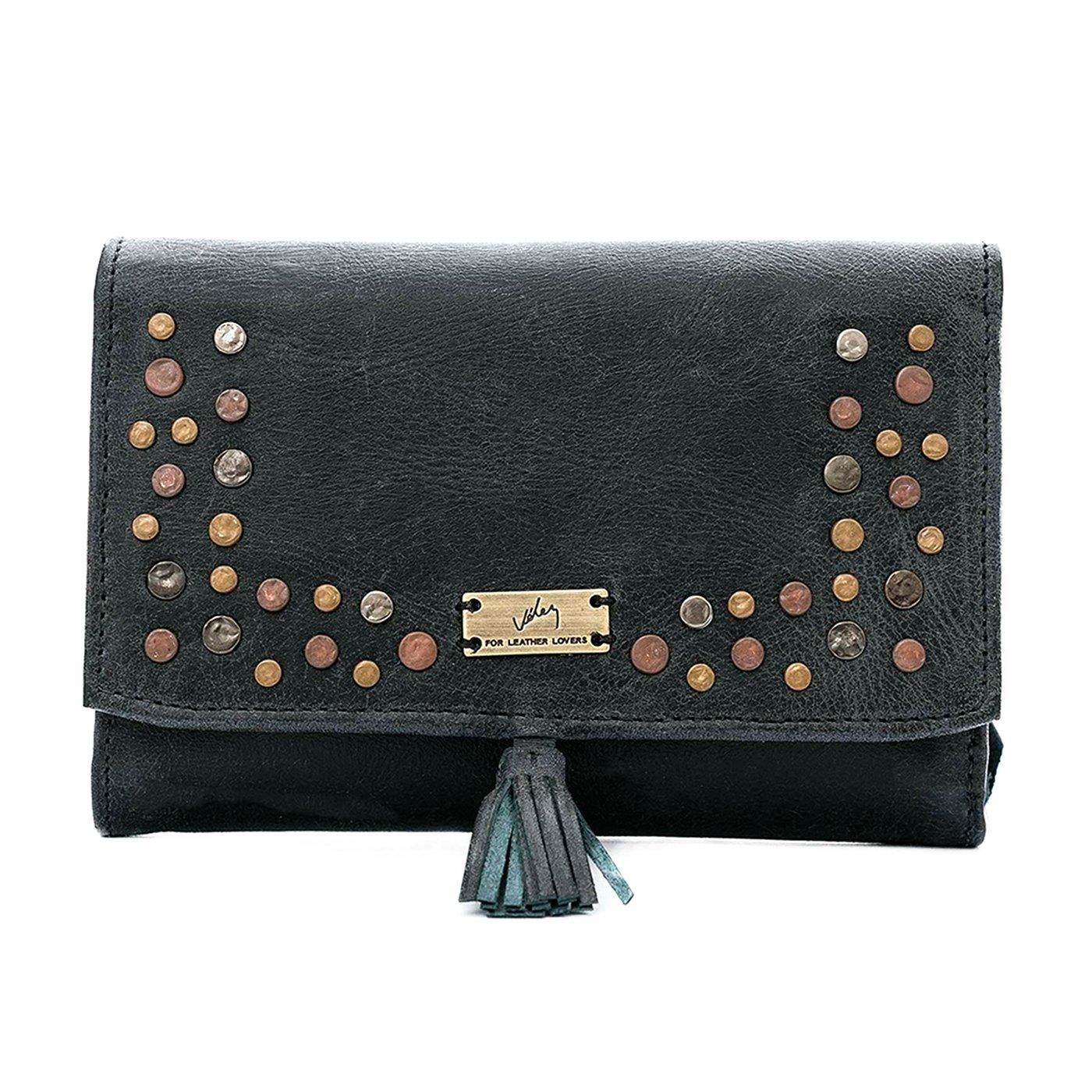 Velez Women Genuine Leather Wallet Credit Card Holder | Billetera Cuero Mujer
