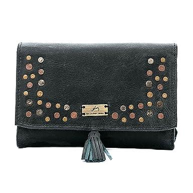 Velez Women Beautiful Genuine Leather Trifold Wallet Credit Card Holder Small Purse Organizer   Billeteras de