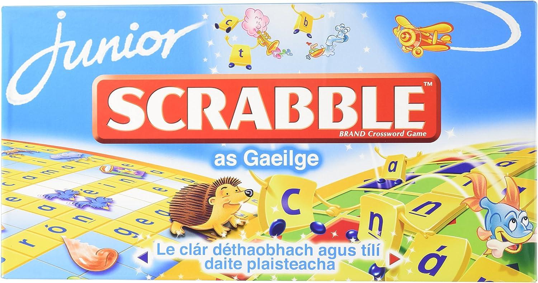Tinderbox Games Scrabble Junior Irish Language Version: Amazon.es: Juguetes y juegos