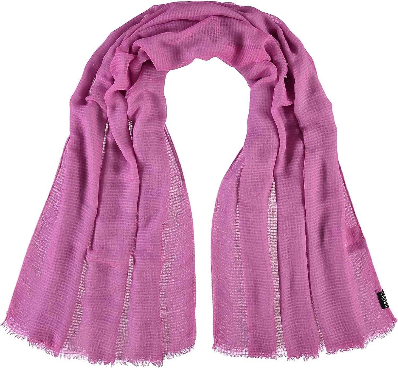 Mode-Accessoire in Uni-Farben perfekt f/ür Fr/ühling /& Sommer FRAAS Damen-Schal mit elegantem Design