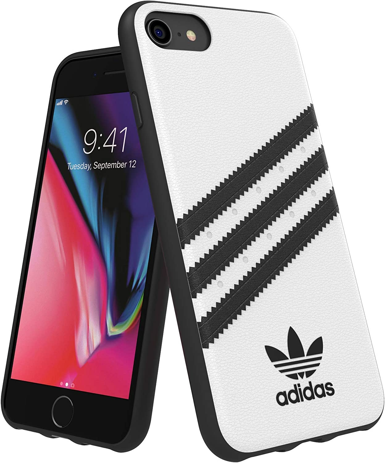 adidas OR Moulded Case PU FW18 for iPhone 6/6S/7/8, White
