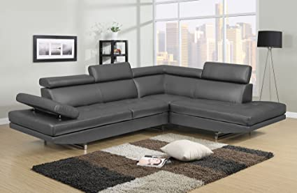 Bon NHI Express Logan Sofa Set (1 Pack), Gray