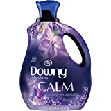 Downy Infusions Liquid Fabric Softener, Calm, Lavender & Vanilla Bean, 81 fl oz