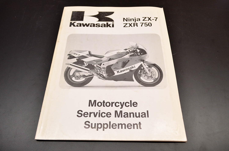 Amazon.com: Kawasaki 99924-1126-51 Ninja ZN-7 ZXR 750 Service Manual  Supplement 90 Ninja ZN-7/ZXR 750. QTY 1: Automotive