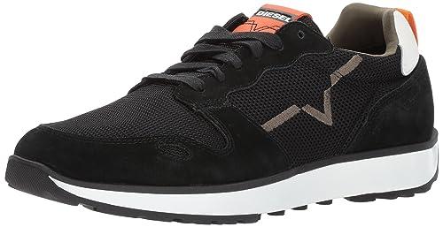 Diesel Cortt RV, Zapatillas para Hombre, (Black/Sun Orange), 40 EU: Amazon.es: Zapatos y complementos