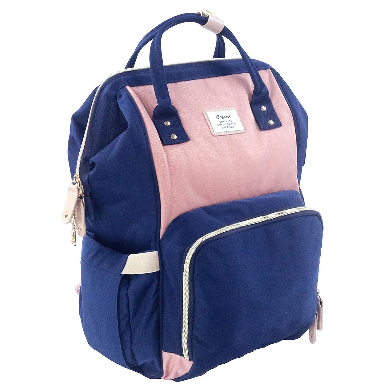 Diaper Bag Backpack, Caforee Multi-Function Travel Back Pack Large Capacity  Waterproof Stylish
