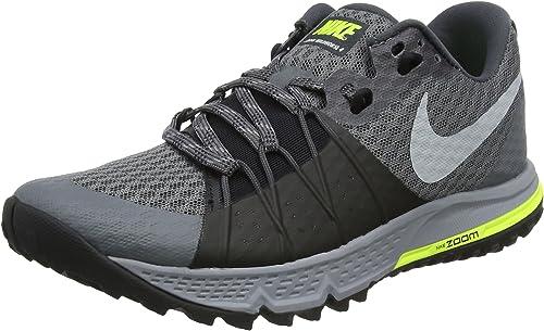 Nike Air Zoom Wildhorse 4, Zapatillas de Trail Running para Hombre, Gris (Dark Grey/Wolf Grey/Black/Stealth 001), 45 EU: Amazon.es: Zapatos y complementos