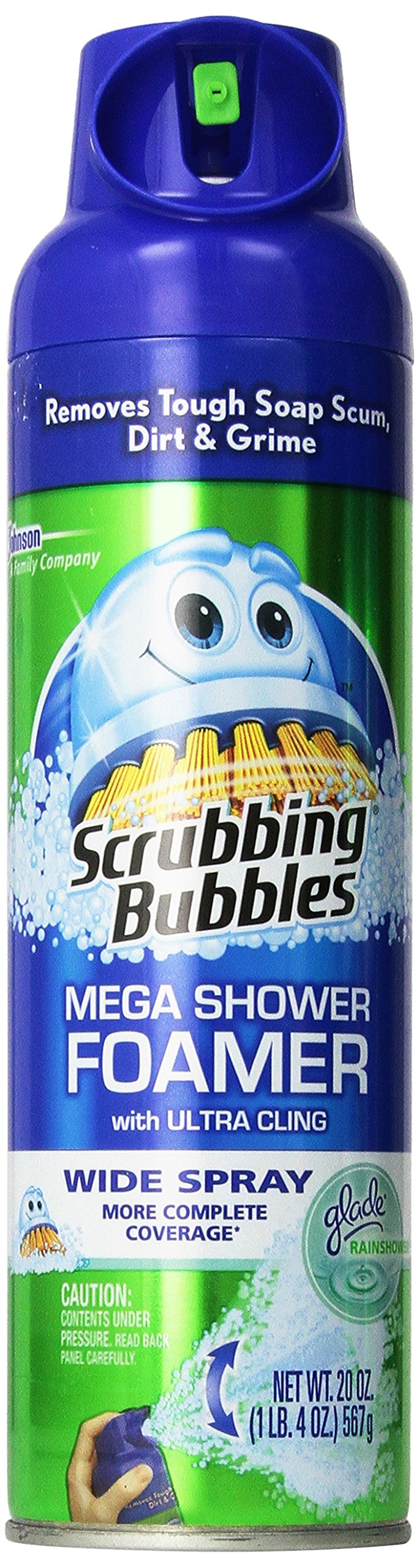 Scrubbing Bubbles Foaming Bathroom Cleaner  (20 oz 3 Pack, SPRAY) ,Package may vary by Scrubbing Bubbles