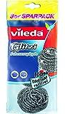 Vileda Glitzi Paglietta in acciaio inox (confezione da 3)