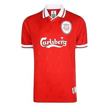 Liverpool F.C. - 1996 Retro Clásico Camiseta de fútbol Kit Tira de camiseta Talla:large: Amazon.es: Deportes y aire libre