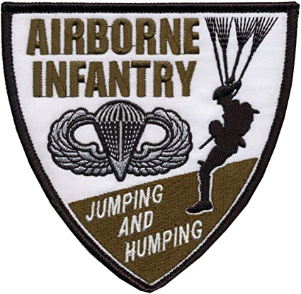 PARATROOPS INFANTRY CLOTH JACKET PATCH U.S