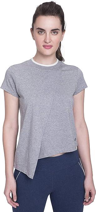 Satva Premium Organic Cotton T-Shirt Round Neck Mesh Bottom Padma Tee