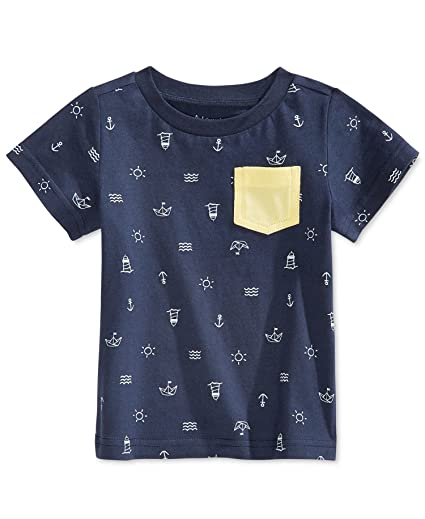 9dc8182b9b8a Amazon.com: First Impressions Baby Boys T-Shirt Tee Shirt (9-12 ...