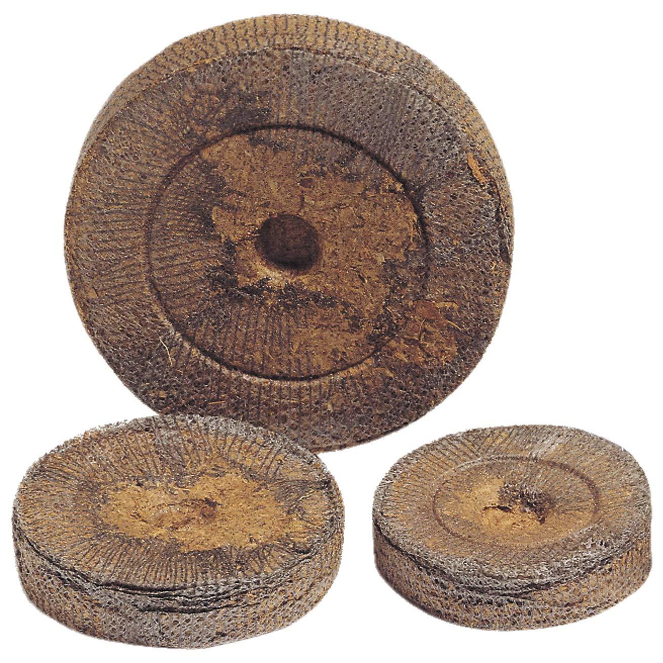 50 Jiffy Torf-Quelltabletten Quelltöpfe Aussaaterde Anzuchterde Torftablette Kokos-Quelltabletten