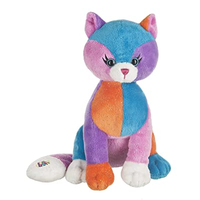 Webkinz Colorblock Kitty Plush: Toys & Games