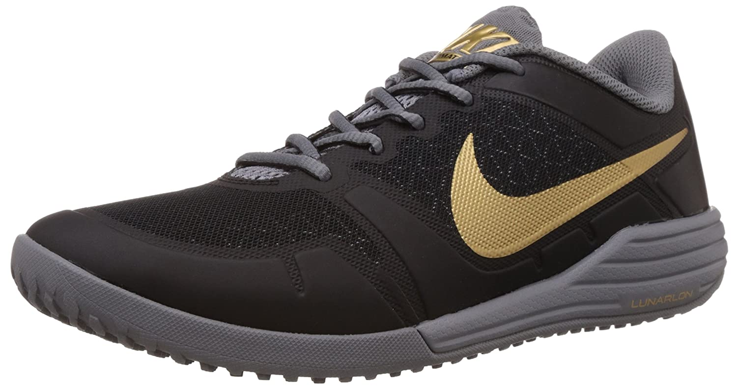 newest 8e1d3 1ded4 Nike Men s Lunar Ultimate Tr Black, Metallic Gold, Cool Grey Outdoor  Multisport Training Shoes -11 UK India (46 EU)(12 US)  Buy Online at Low  Prices in ...