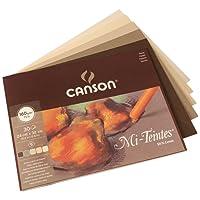 Canson Mi-Teintes - 1 bloc de papel, 24 x 32 cm, color