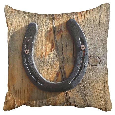 emvency fundas de almohada, diseño de Herradura de caballo ...
