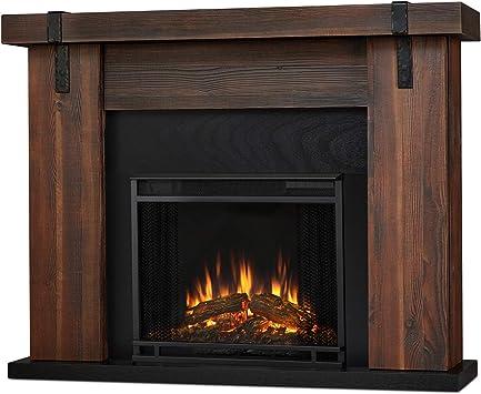 Amazon Com Real Flame Aspen Electric Fireplace 48 5 L X 13 5 W