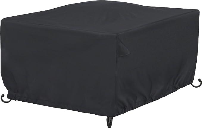 AmazonBasics - Funda para mesa/hoguera cuadrada de terraza - 1, 06 ...