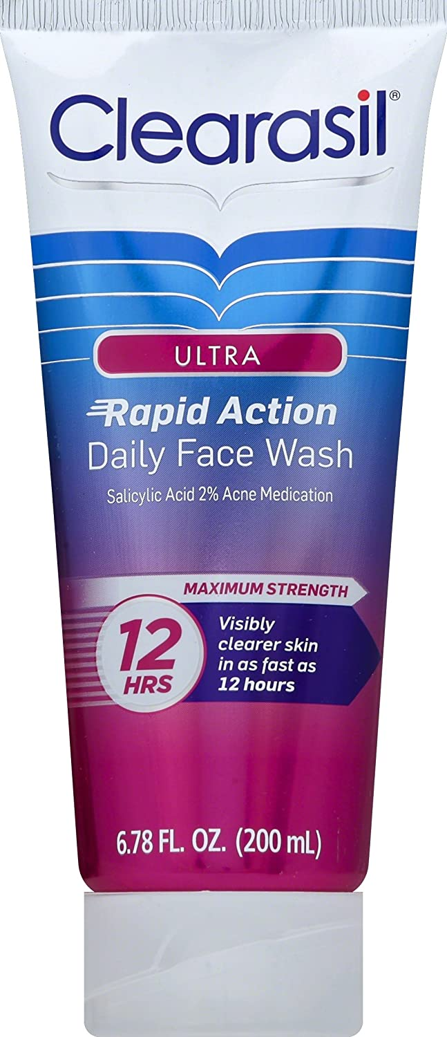 Clearasil Ultra Acne Treatment Daily Face Wash, 6.78 Ounce