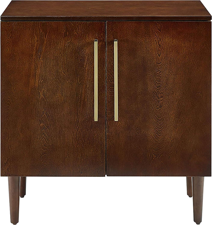 Crosley Furniture CF6122-MA Everett Mid-Century Modern Console Cabinet, Mahogany