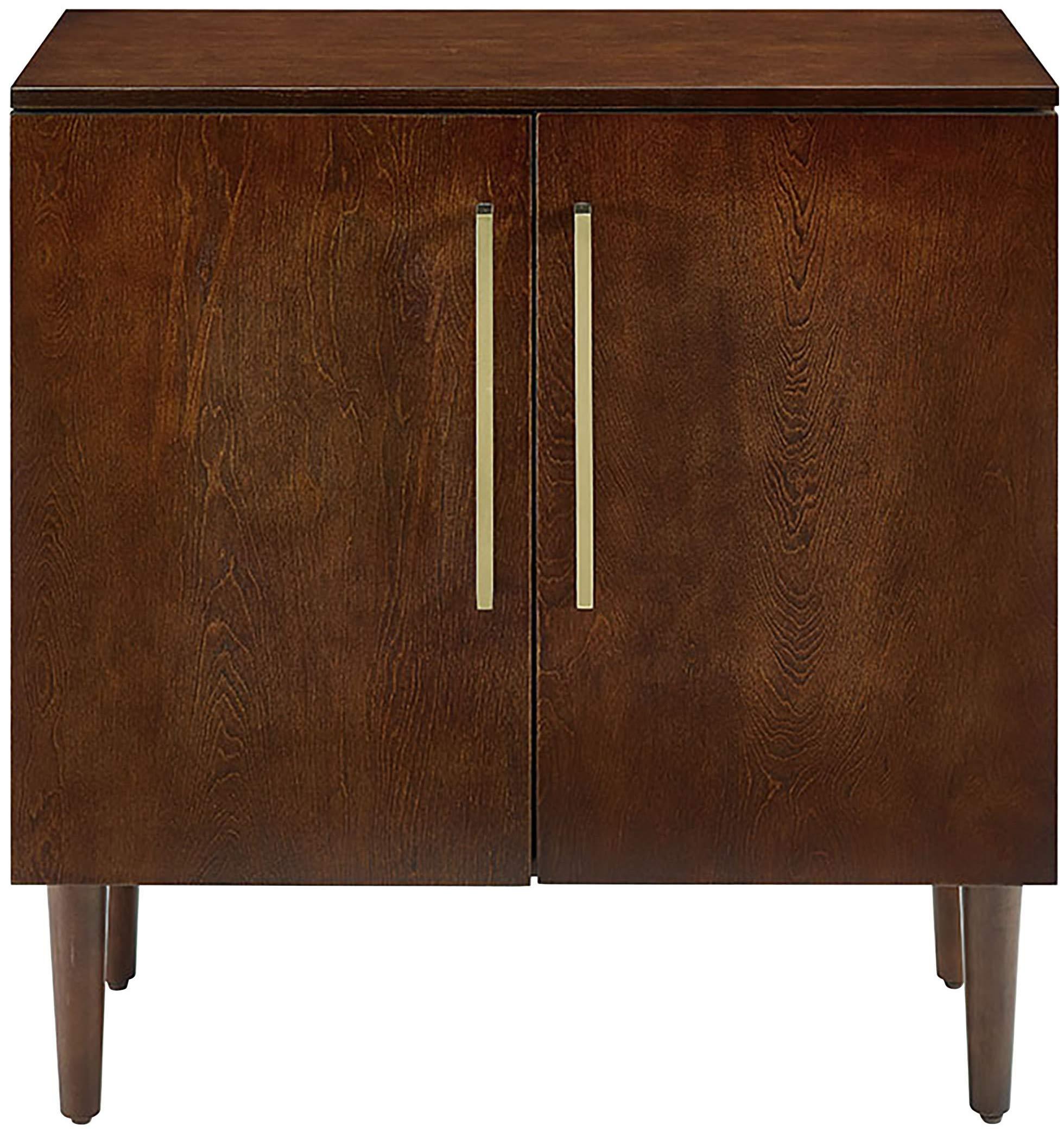 Crosley Furniture Everett Mid-Century Modern Console Cabinet, Mahogany by Crosley Furniture