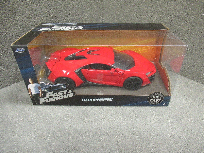 1:24 JADA  />/>SALE OUT PRICE/</< rot W Motors Lykan HyperSport Fast /& Furious 7