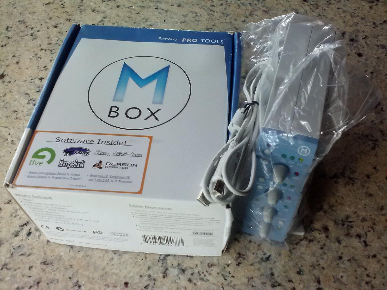 Macintosh and Windows Digidesign MBox Audio Interface