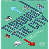 New - 2021 - Through The City - a Fun Urban car Race - Board Games for Kids and Parents - Easy and Fun Kids Board Games for A
