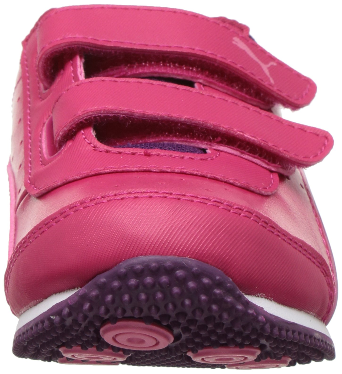 PUMA Baby Speed Lightup Power V Kids Sneaker, Love Potion-Rapture Rose, 5 M US Toddler by PUMA (Image #4)