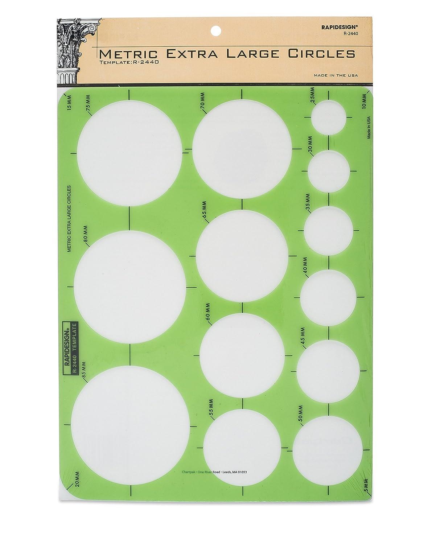 Rapidesign Stars Template, 1 Each (R2013) Chartpak