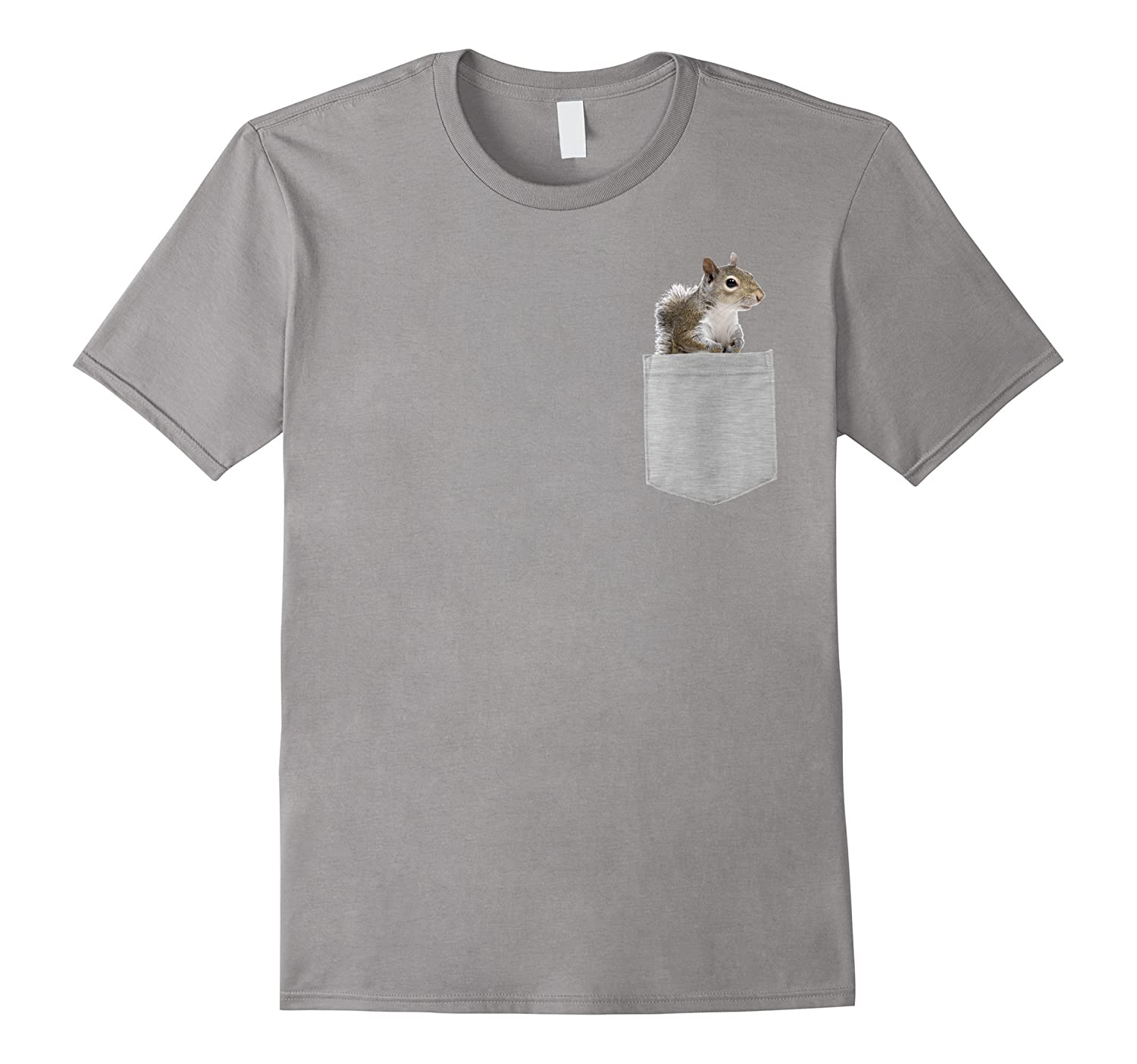 Animal in Your Pocket American gray squirrel t-shirt-T-Shirt
