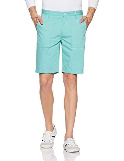United Colors of Benetton Men's Slim Fit Shorts Men's Shorts at amazon
