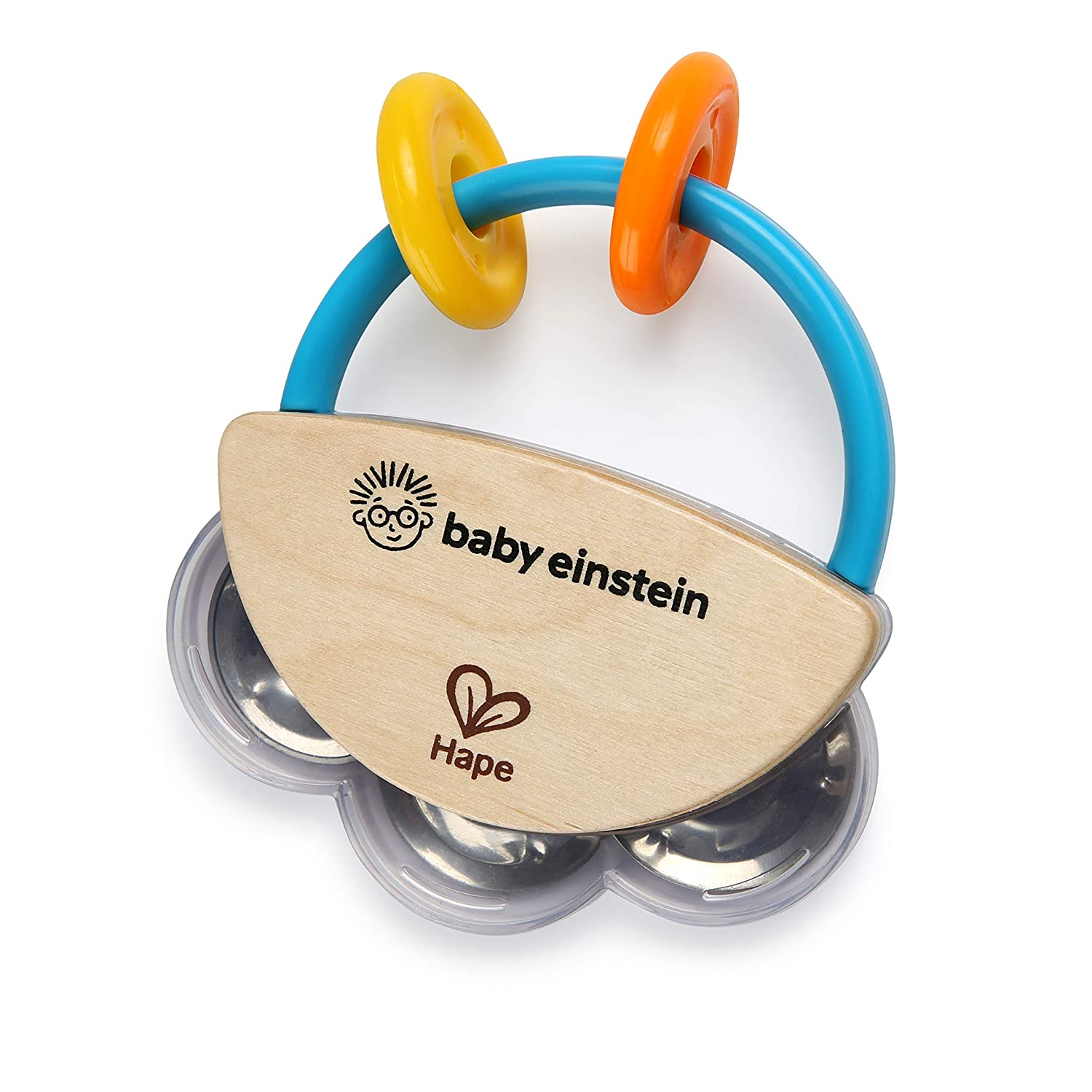 baby einstein tiny tambourine musical toy