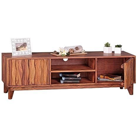 Sideboard TV Lowboard Landhausstil Fernsehschrank HIFI Rack Fernsehtisch Holz