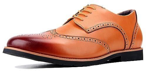 Qimaoo Herren Anzugschuhe Business Schuhe Lederschuhe aus