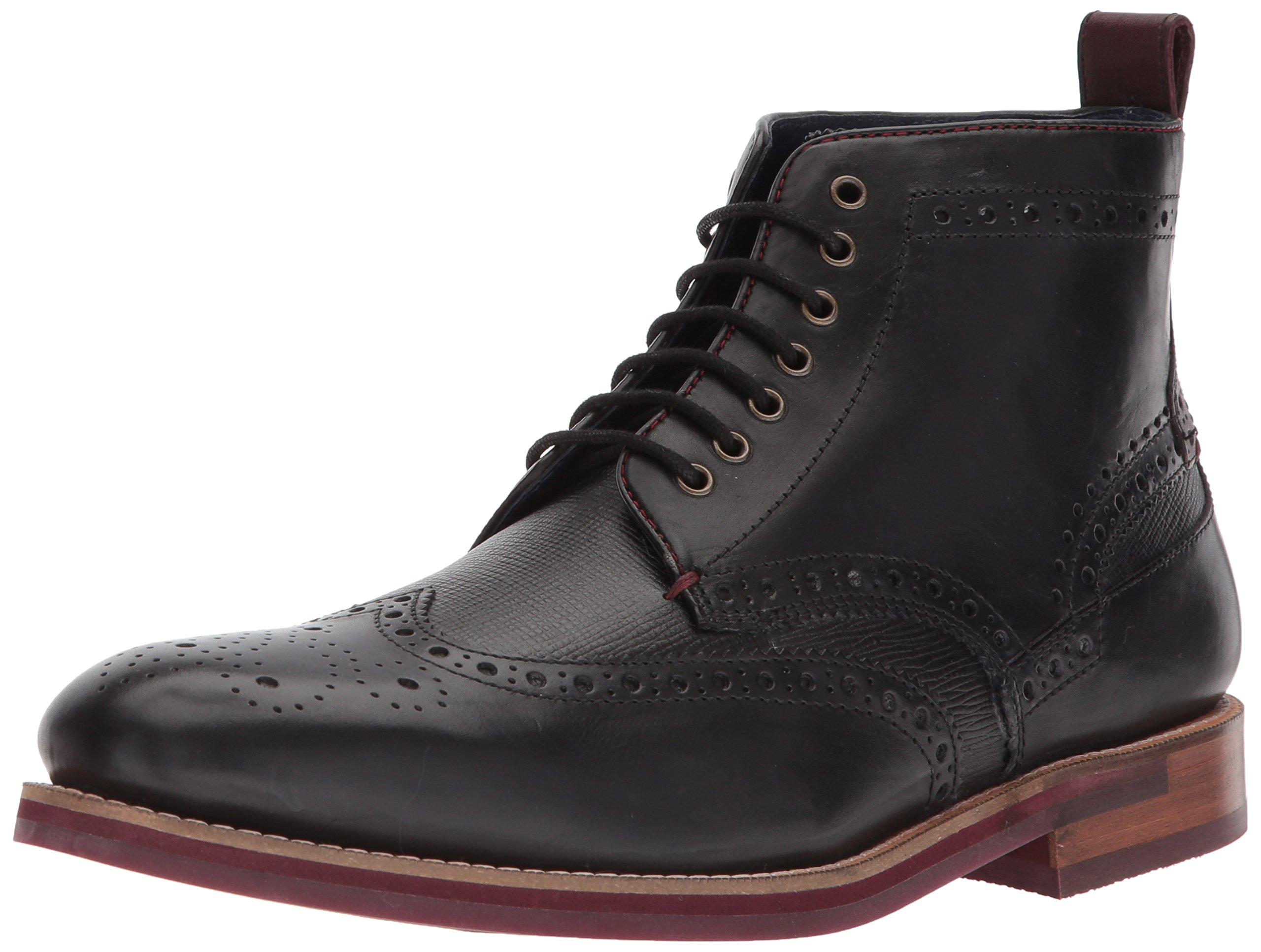Ted Baker Men's Hjenno Boot, Black, 12 D(M) US