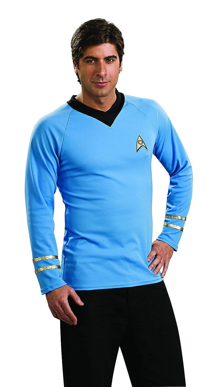 sc 1 st  Amazon.com & Amazon.com: Rubieu0027s Star Trek Classic Deluxe Spock Shirt: Clothing