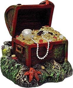 Captain Kidd Treasure Aquarium Ornament, Small