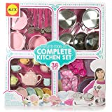 Alex Toys Let's Play Complete Kitchen Set with 38 Pieces