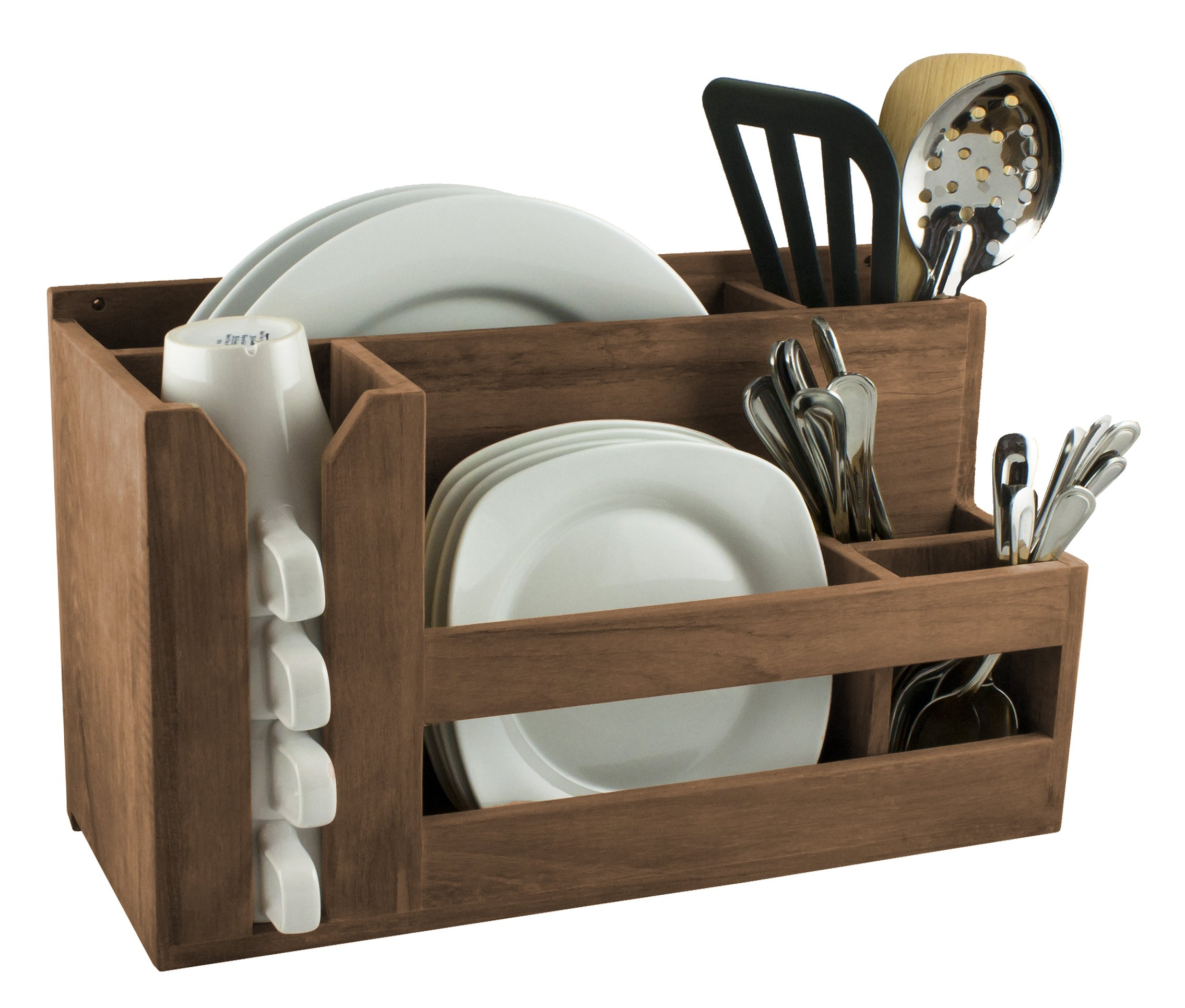 SeaTeak 62404 Dish/Cup/Utensil Holder
