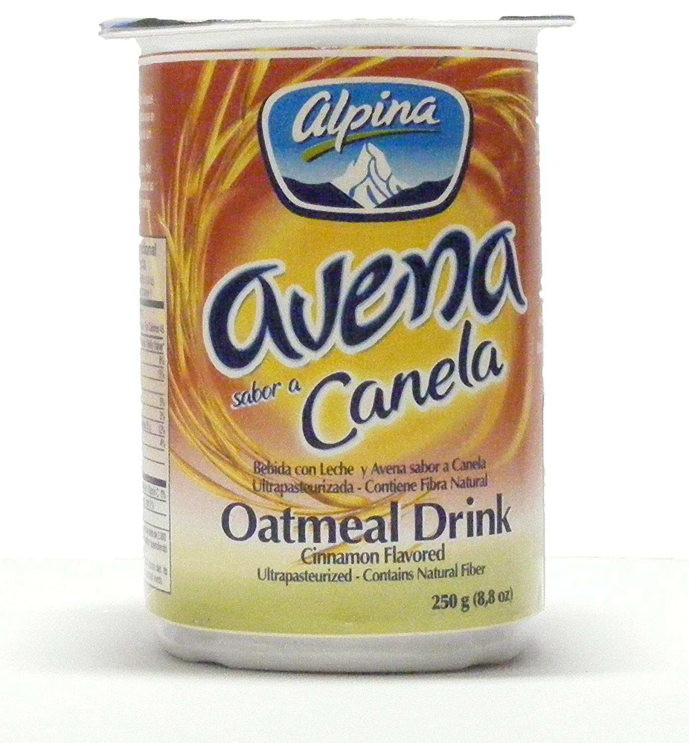Amazon.com : Alpina Cinnamon and Original Oatmeal Drink (12 Pack) (6+6) : Instant Breakfast Drinks : Grocery & Gourmet Food