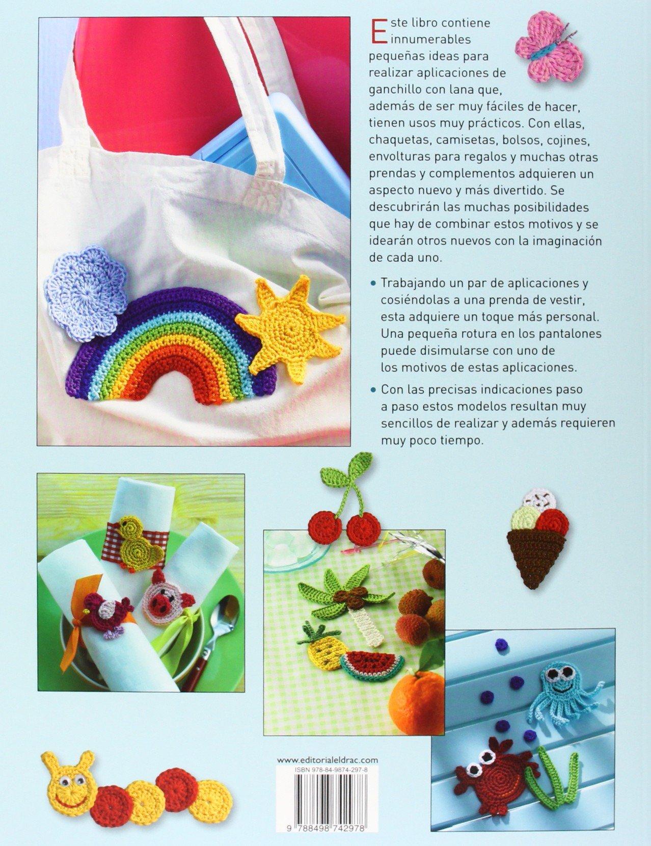 100 Mini figuras tejidas a ganchillo: aplicaciones fáciles y ...