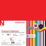 Neenah Creative Collection Classics Specialty Cardstock Starter Kit, 12 X 12 Inches, 72 Count (46408-02)
