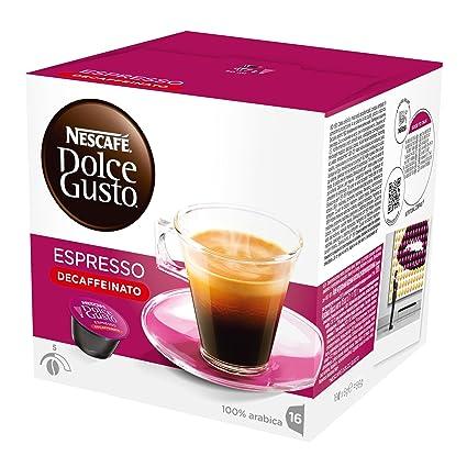 dolce gusto decaffeinato  NESCAFÉ DOLCE GUSTO ESPRESSO DECAFFEINATO Caffè espresso ...