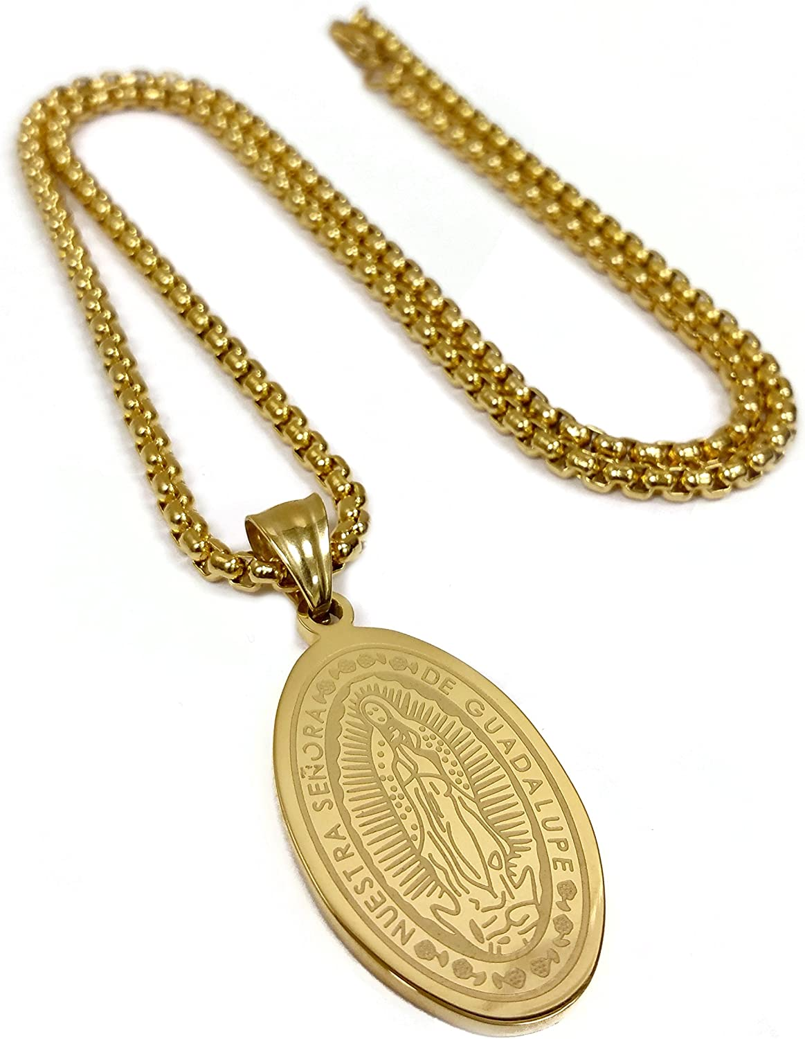 DiamondJewelryNY 14kt Gold Filled Immaculate Conception Pendant