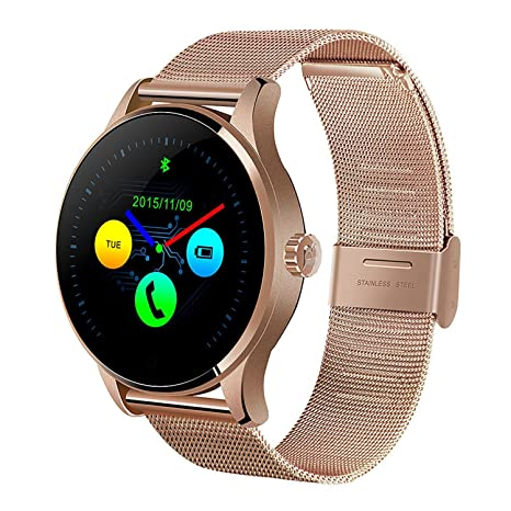 Amazon.com: yimohwang k88h Smart Watch Ronda visualización ...