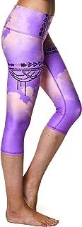product image for teeki, Women's Capri, Purple Hazed Pattern